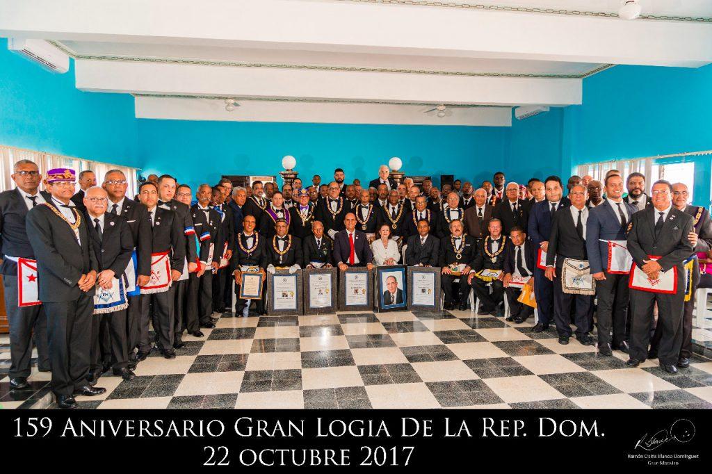 159 Aniversario de Gran Logia de la República Dominicana